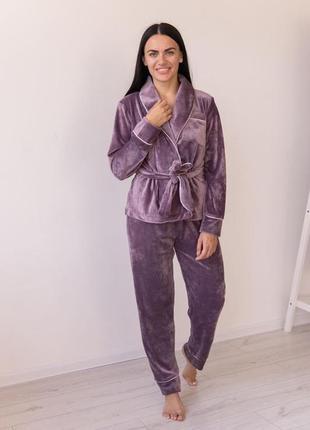 Тёплая пижама, одежда для сна