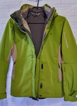 Женская лыжная куртка salomon - оригинал!
