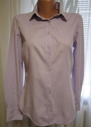 Рубашка, приталенная кофточка, офисная блуза 100% хлопок, много брендовых вещей)