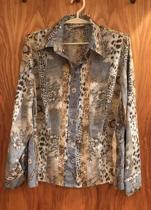 Блузка, рубашка в анималистическом стиле