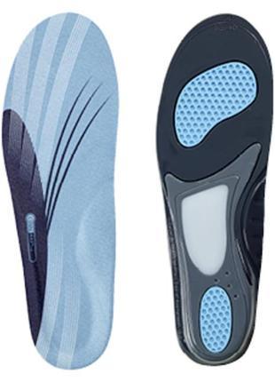 Спортивные гелевые стельки в кроссовки 40-41 р. crane coolmax, унисекс