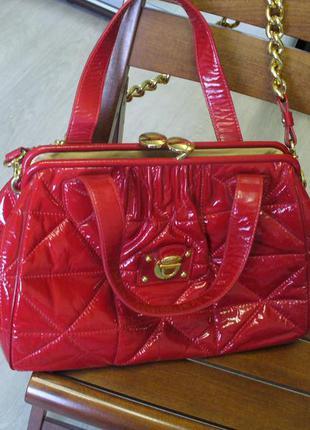 Красная сумка marc jacobs. оригинал. италия. Marc Jacobs, цена - 600 ... c71258bdc27