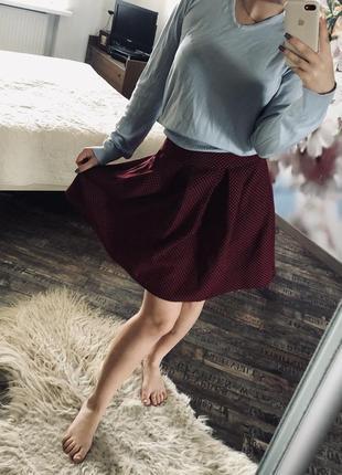 Великолепная юбочка в горошек