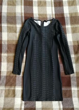 Факиурное платье футляр h&m