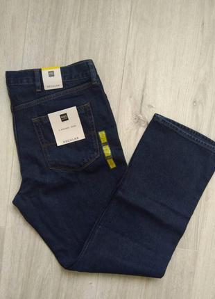 Классические мужские джинсы большого размера marks & spencer размер w38/l31 regular