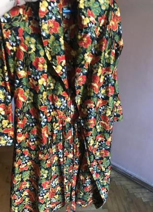 Халат платье на запахе размер s/m