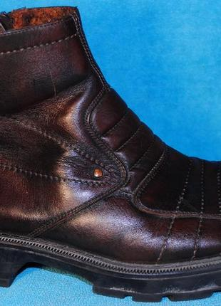 Деми  ботинки кожа aldo 46 размер