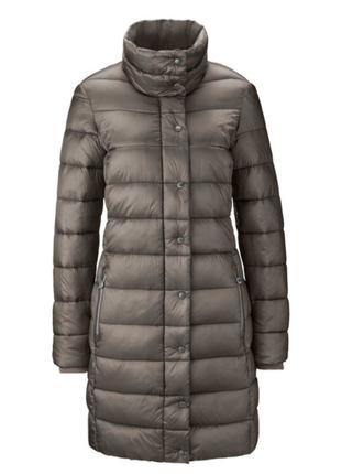 Стеганное ультролегкое пальто от tchibo германия размер 46 евро=52