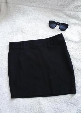 Черная классическая юбка oodji