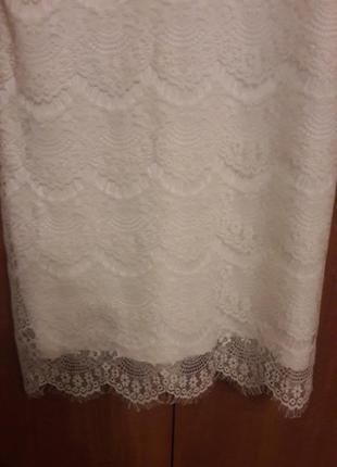 Короткое/свадебное/кружевное платье