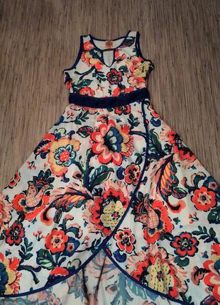Супер платье из натурального шелка от tory burch