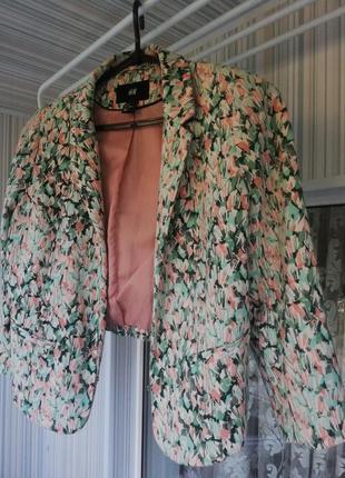 H&m укороченный пиджак