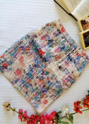 Джинсовая юбка topshop