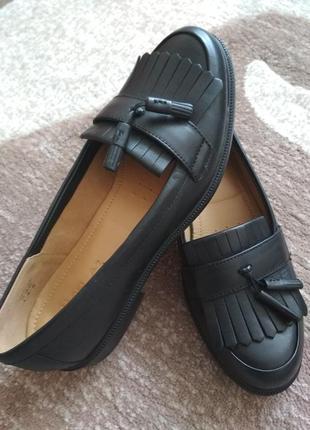 Туфлі туфли жіночі лофери hotter мокасини тапочки