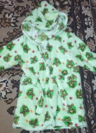 Детский халат, довочка или мальчик,