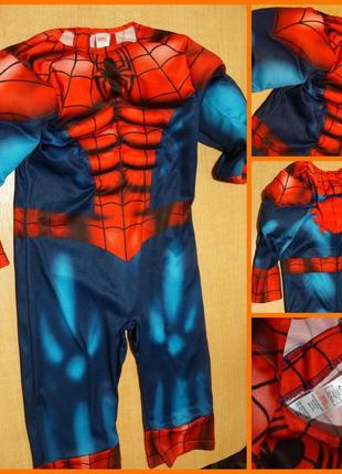 George avengers карнавальный костюм человек паук 2-3 года карнавальний людина павук