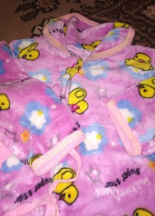 Детская пижама на довечку