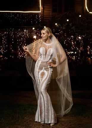 Свадебное, выпускное, вечернее  платье1 фото