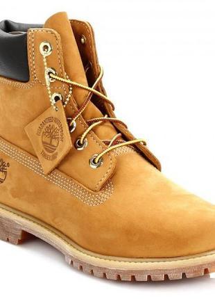 6-дюймовые ботинки премиум-класса timberland(40 р.)оригинал