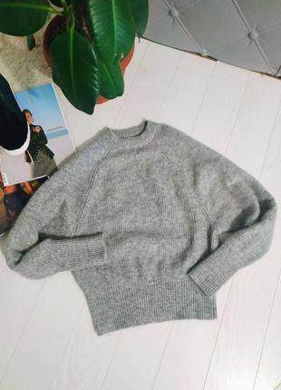 Базовый шерстяной свитер h&m