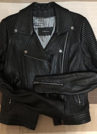 Кожаная куртка италия