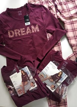 Домашний комплект пижама от немецкого бренда esmara ,с, л