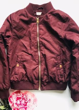 Куртка-бомбер, для дівчинки h&m