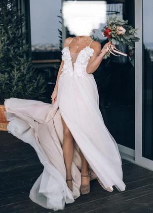 Свадебное/вечернее/выпускное платье дизайнерское