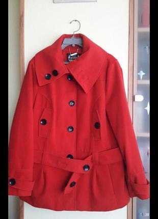 Брендовое женское пальто-куртка фирмы yessica,оригинал,новое