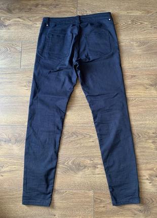Брюки, джинсы, синие брюки, синие джинсы