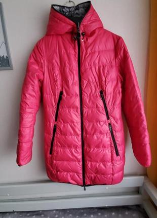 Двухсторонняя куртка холлофайбер