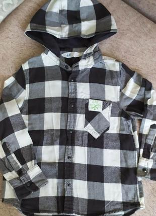 Классная рубашечка h&m