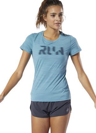 Спортивная/тренировочная/беговая  футболка reebok running activchill