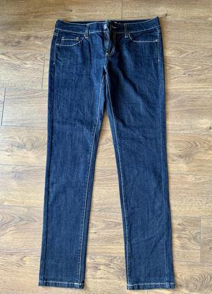 Классические чёрные джинсы, прямые джинсы, синие джинсы