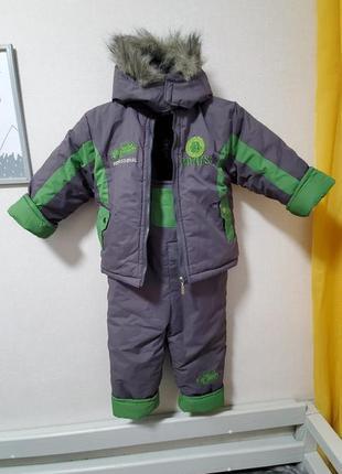 Комбинезон, зимний костюм