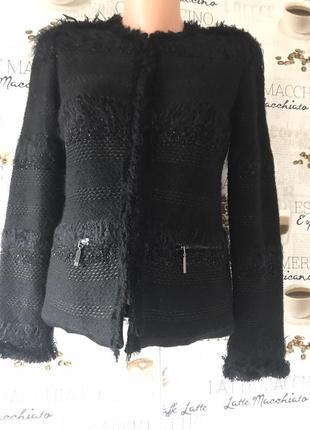 Lil pour i'autre paris жакет шерстяной пиджак махер шерсть кофта кардиган свитер