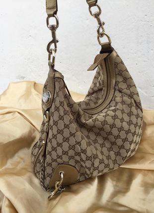 Винтажная сумка гучи gucci hobo винтаж