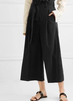 Штаны брюки кюлоты высокая посадка