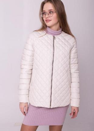 Демисезонная осенняя куртка утепленная свободная реглан
