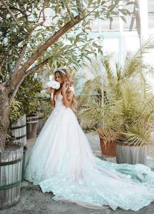 Весільне плаття дизайнера lorenzo rossi, свадебное платье