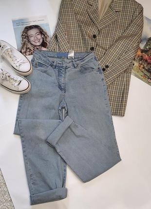 Трендовые джинсы бойфренды, мом с очень высокой посадкой arizona