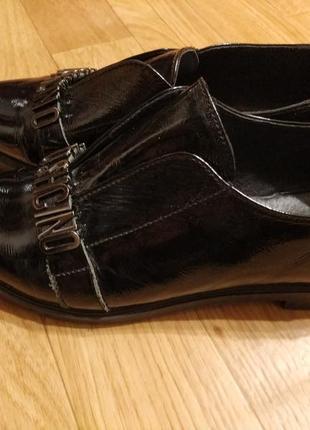 Туфли оксфорды лаковые