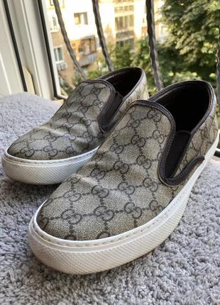 Фирменные туфли gucci 41 размер, по стельке 27-27,5 см