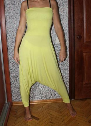 Комбинезон галифе штаны с матней ромпер