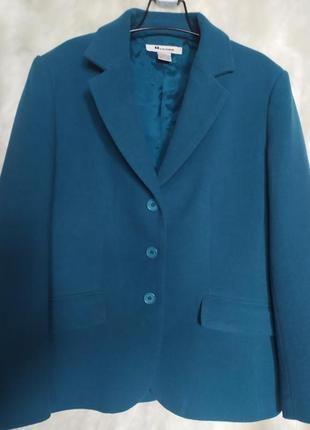 Люксовый пиджак (шерсть+кашемир)канадского бренда nygart
