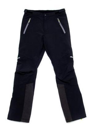 Утеплённые брюки quechua для зимнего спорта. размер s