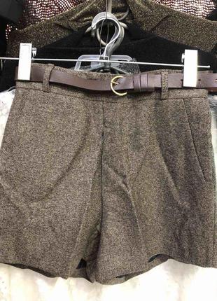 Классические шорты теплые