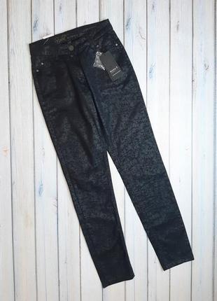 Отличные новые черные узкие джинсы скинни kenny s, размер 44 - 46