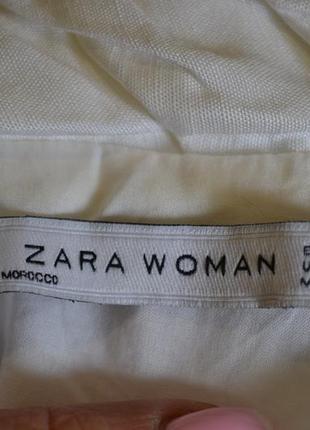 Платье м zara белое