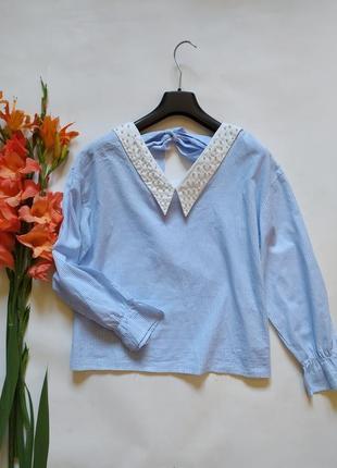 Хлопковая рубашка блуза
